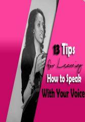 13 Tips...