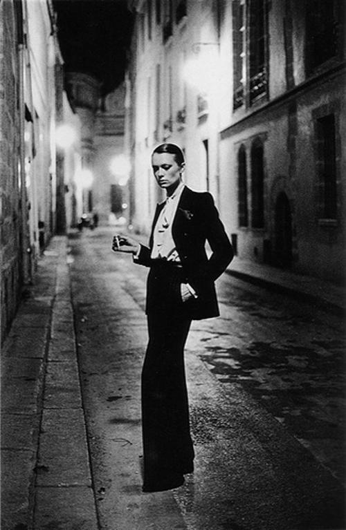 Helmut Newton's Le Smoking