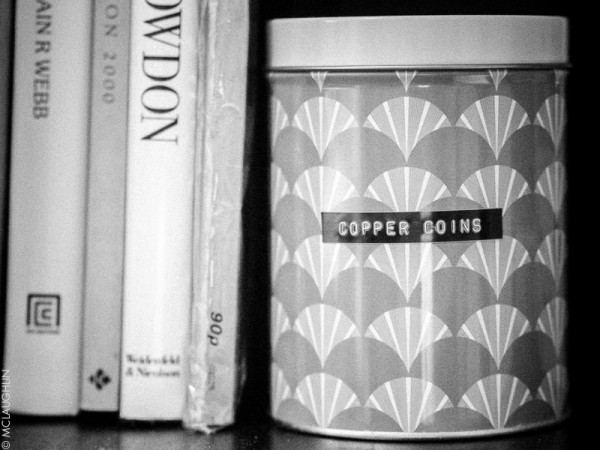 Copper Coin Tin