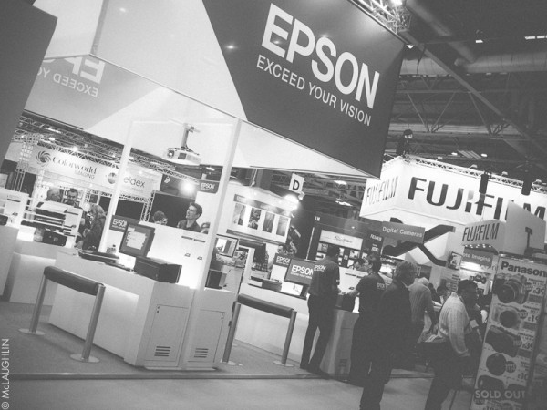 The Epson stand at Focus