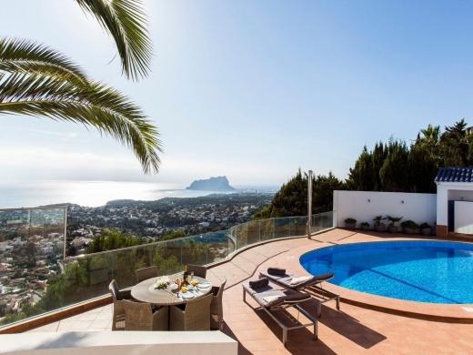 3 bed villa de lujo in Benissa