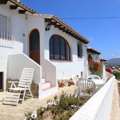 2 bed villas / chalets in Moraira