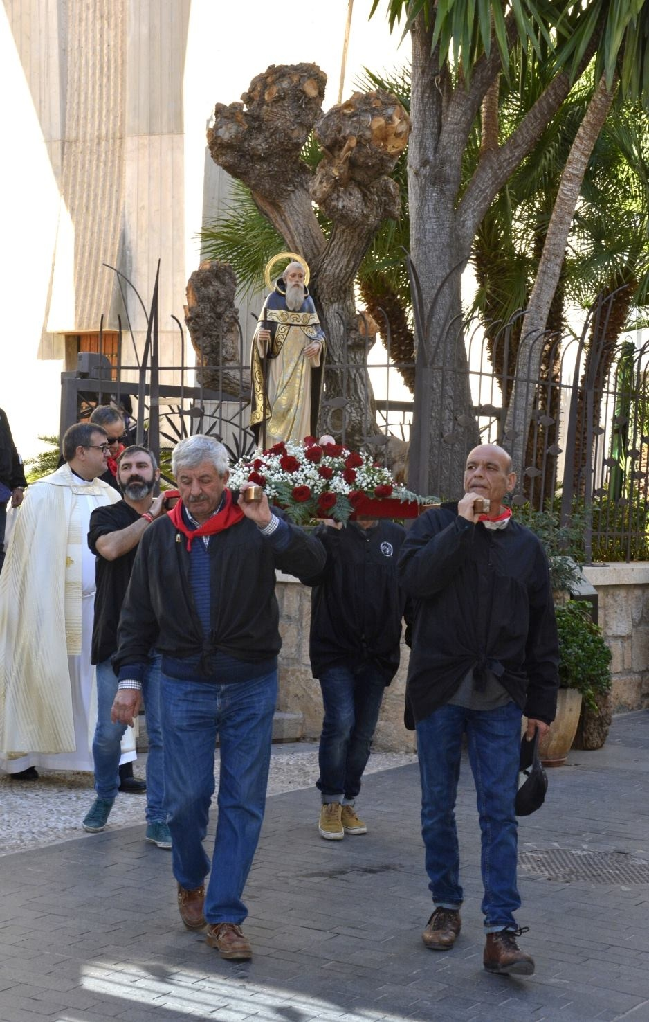 "Fiestas in Javea: ""San Antonio Abad"" (January 2021)"