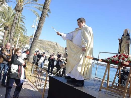 "Fiestas in Javea: ""San Antonio Abad"" (January 2021)"