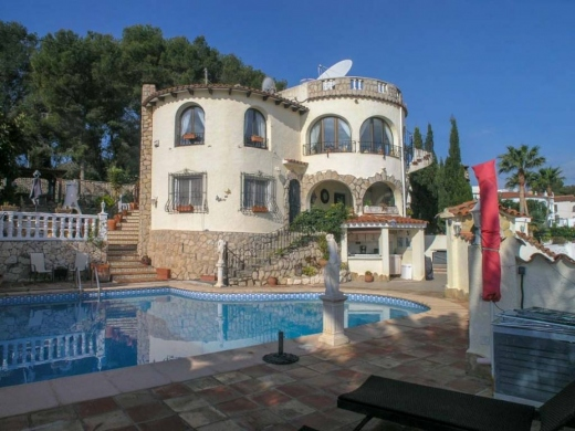 5 bed villas in Benissa
