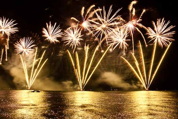 Altea Castell De L'Olla Fireworks