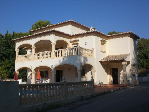 6 bed villa in Moraira