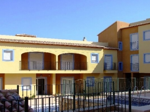 2 bed apartments in Teulada