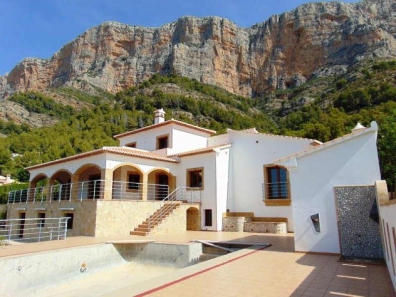 5 bed new build in Javea