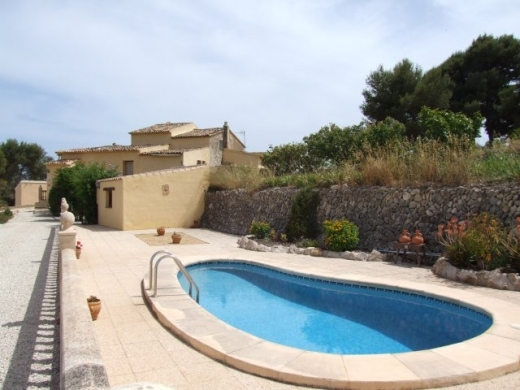 3 bed finca in Benissa