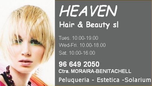 Heaven Hair & Beauty Salon Moraira