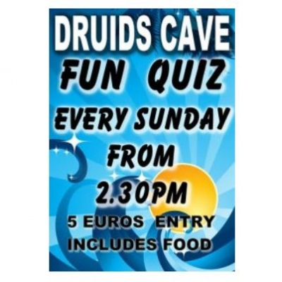 Quiz Night: Druid's Cave