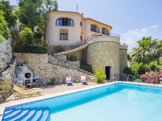 5 bed villa in Calpe