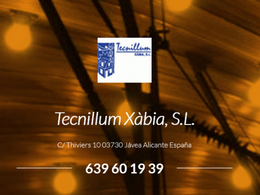Tecnillum Xabia - Electricians in Javea
