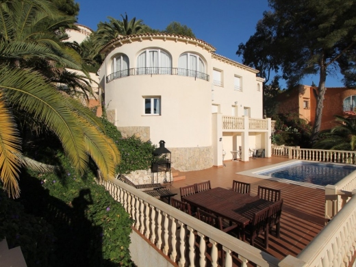 7 bed villa in Benissa