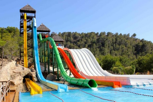Aqualandia Water Park Benidorm Costa Blanca Popular Tourist