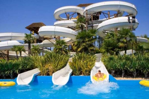 Aqualandia Water Park Benidorm Costa Blanca Popular Tourist