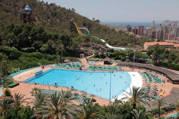 Aqualandia Water Park Benidorm Costa Blanca Popular