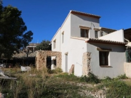 3 bed finca in Teulada
