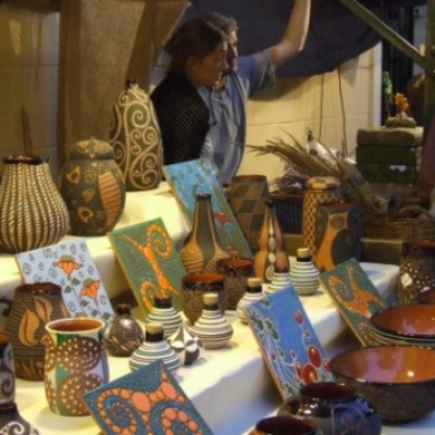 Markets in Javea: Antiques Fair in Xàbia Historic Centre (Javea Old Town)
