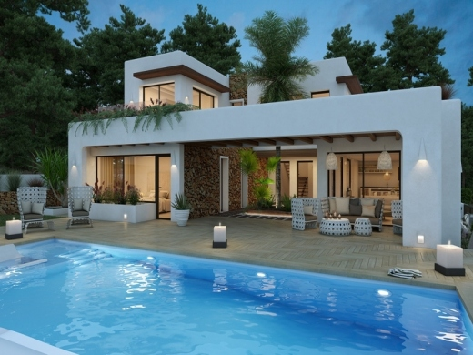 4 bed new build in Moraira