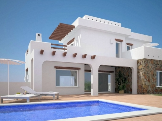2 bed  new build villas in Moraira