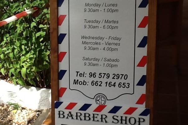 Barber Shop Javea