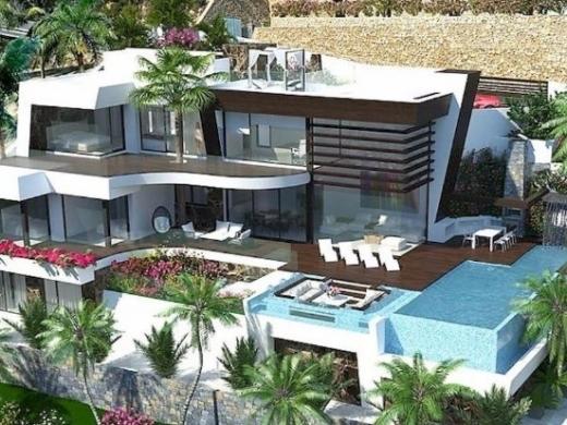 6 bed new build villa in Benissa