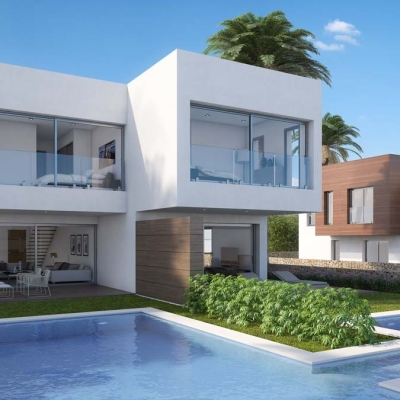 3 bed villa in Moraira