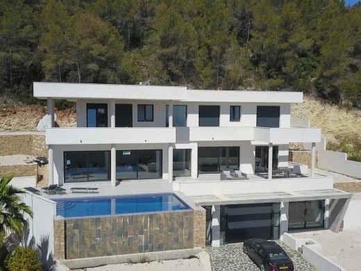 4 bed new build in Javea
