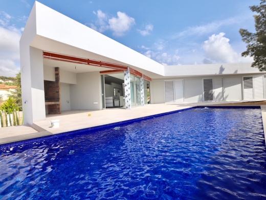 4 bed new build in Benissa Costa