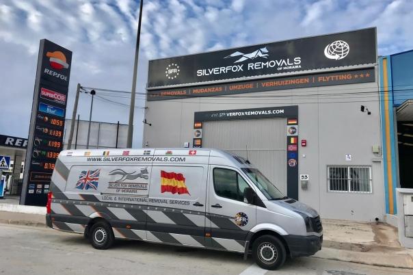 Silverfox Removals Moraira - Removal Company Costa Blanca - Spain