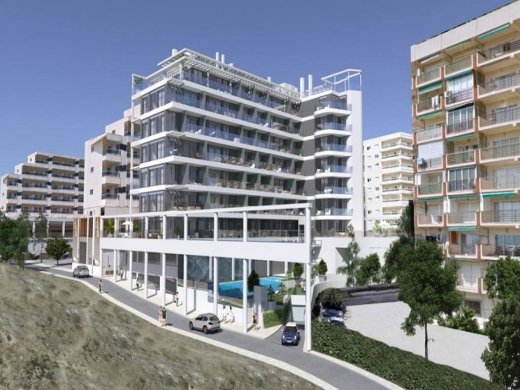 2 bed apartments in Calpe