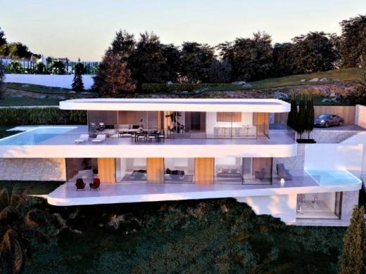 4 bed new build villa in Moraira