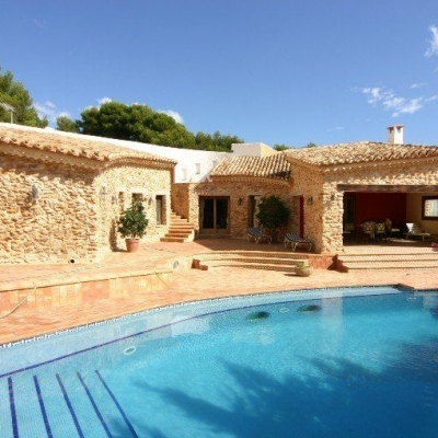 6 bed villa de lujo in Moraira