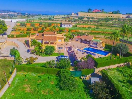 7 bed villa de lujo in Benissa