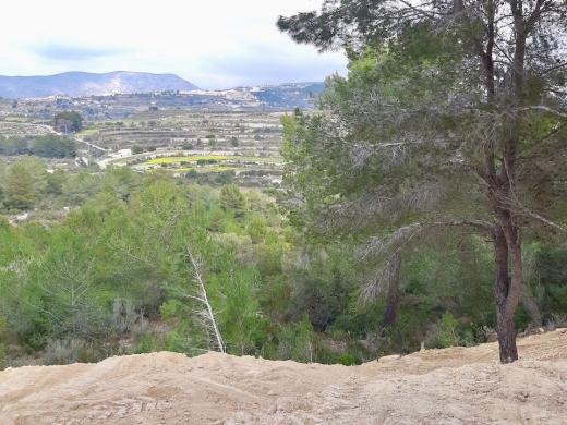 plots of land in Moraira