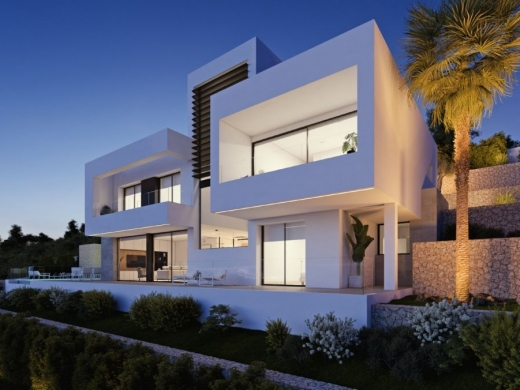 4 bed new build villa in Altea