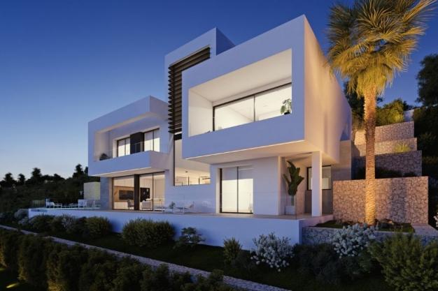 4 bed new build villa in Altea