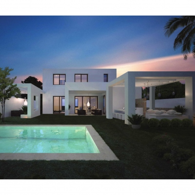 3 bed new construction in Moraira