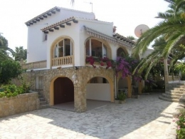 7 bed villa in Moraira