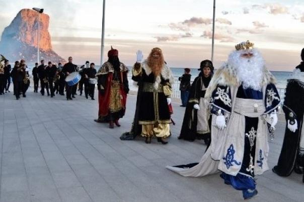 Fiestas in Calpe: Three Kings (January 2021)