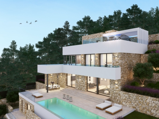 2 bed new construction in Moraira