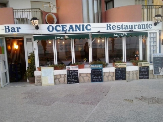 Winter Menu at Oceanic Restaurant Calpe