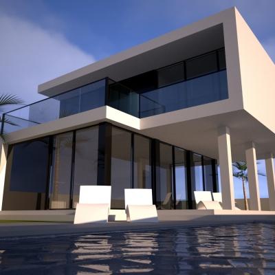 3 bed new build in Moraira