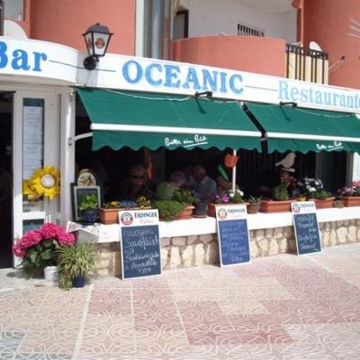 Winter Menu at Oceanic Restaurant Calpe