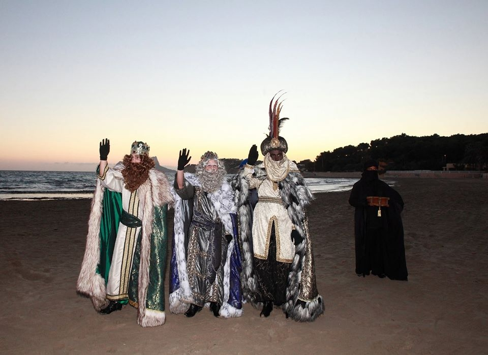 Fiestas in Moraira / Teulada: Three Kings (December 2020 / January 2021)