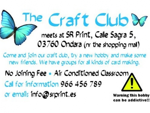 Workshops: The Craft Club (SR Print & Design)