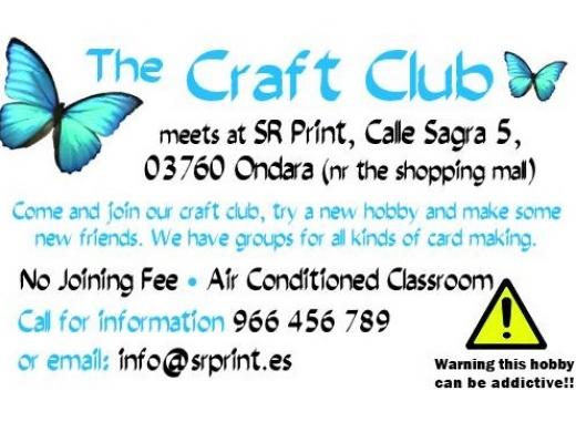 Workshops: The Craft Club (SR Print & Design)