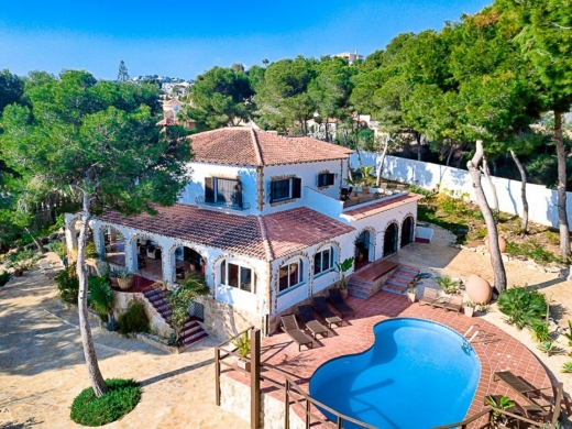 4 bed country house in Moraira
